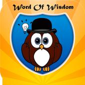 word of wisdom icon