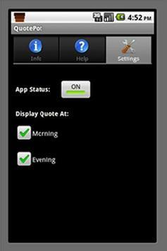 QuotePot apk screenshot