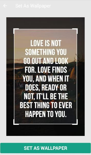 Quotes of Love and Life poster