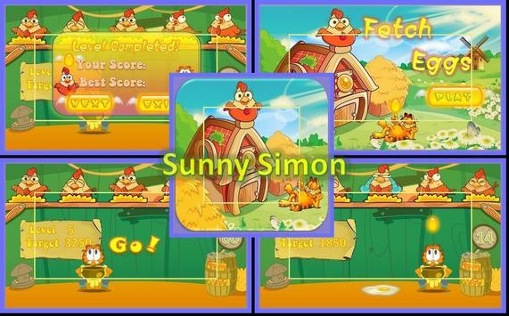 Cute Fetch Eggs screenshot 2