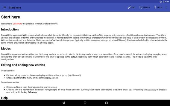 QusaWiki captura de pantalla 5