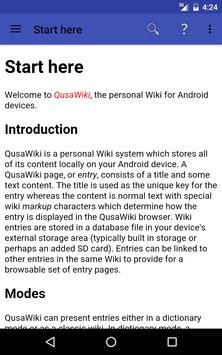 QusaWiki captura de pantalla 7