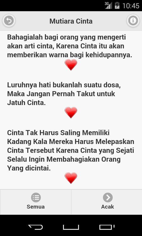 Kata Mutiara Cinta Für Android Apk Herunterladen