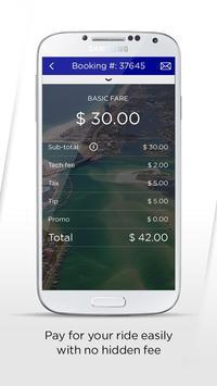 Coast.Cab passenger app apk screenshot