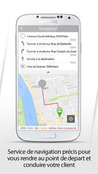 TD CHAUFFEUR apk screenshot