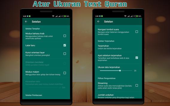 Quran Indonesia dan Terjemahan apk screenshot