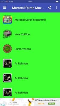 Murotal Quran Muzamil poster
