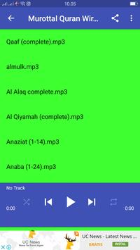 Murotal Quran Muzamil apk screenshot