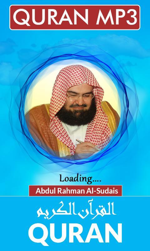 Quran MP3 Abdul Rahman Al-Sudais for Android - APK Download