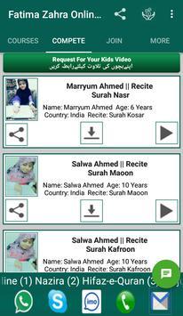 Fatima Zahra Online Quran Acadmy screenshot 1