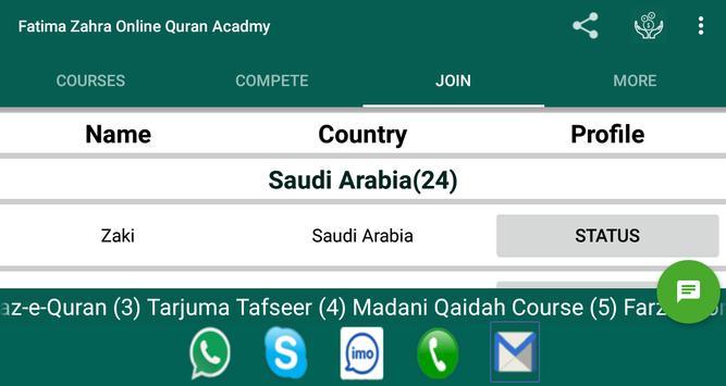 Fatima Zahra Online Quran Acadmy screenshot 2