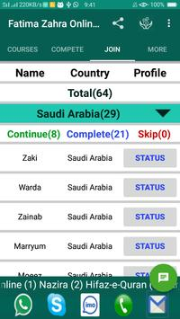Fatima Zahra Online Quran Acadmy screenshot 5