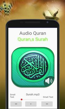 Holy Quran mp3 audio offline apk screenshot