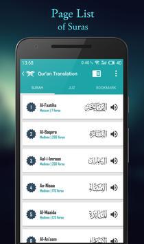Quran English apk screenshot