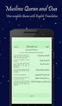 Muslims Qur'an and Dua apk screenshot