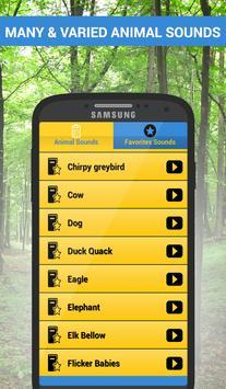 Best Animal Sounds Ringtones apk screenshot