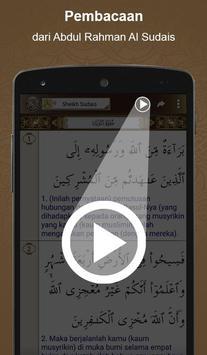 Al'Quran Bahasa Indonesia apk screenshot