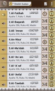 Al Quran Melayu Sudais Audio-Complete Koran Mp3 poster