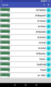 Quran Karim MP3 screenshot 2