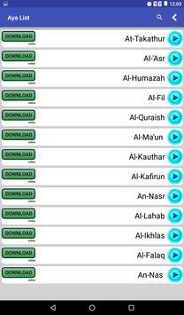 Quran Karim MP3 screenshot 3