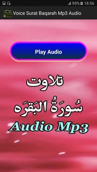 Voice Surat Baqarah Mp3 Audio apk screenshot