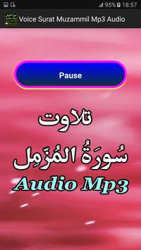 Voice Surat Muzammil Mp3 Audio apk screenshot