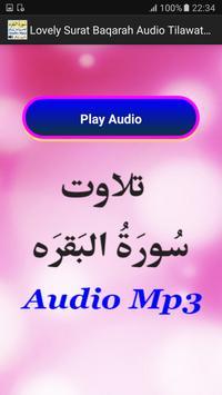 Lovely Surat Baqarah Audio Mp3 apk screenshot