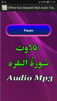 Offline Sura Baqarah Mp3 Audio screenshot 2