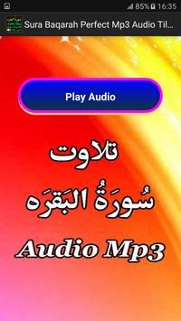 Sura Baqarah Perfect Mp3 Audio apk screenshot
