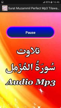 Surat Muzammil Perfect Audio apk screenshot