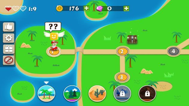 Super Ted Adventure  (Jungle World & smash World) apk screenshot