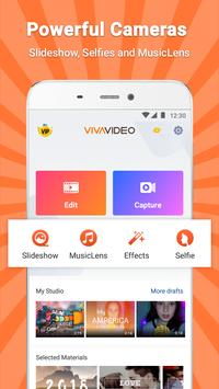 VivaVideo - Video Editor & Photo Video Maker apk zrzut ekranu