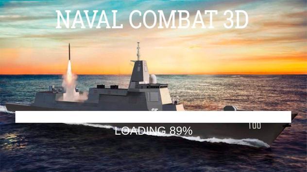 Naval Combat 3D poster