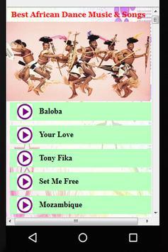 Best African Dance Music & Songs screenshot 1