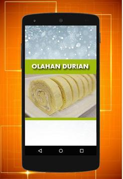 Resep Olahan Durian poster