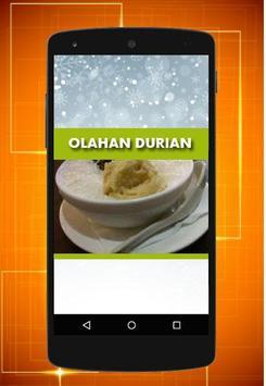Resep Olahan Durian apk screenshot