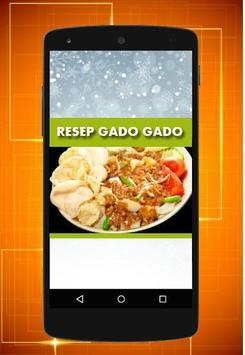 Resep Gado Gado screenshot 1