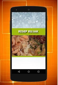 Resep Rujak poster