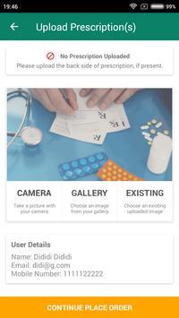 QuickDawa: Online Medicine screenshot 1