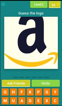 Brand Logos Quiz screenshot 2