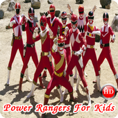 Power Rangers For Kids icon