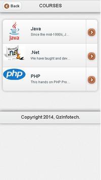 QZ-Infotech apk screenshot
