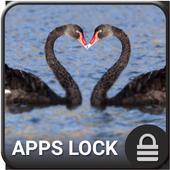 Kiss App Lock Theme icon