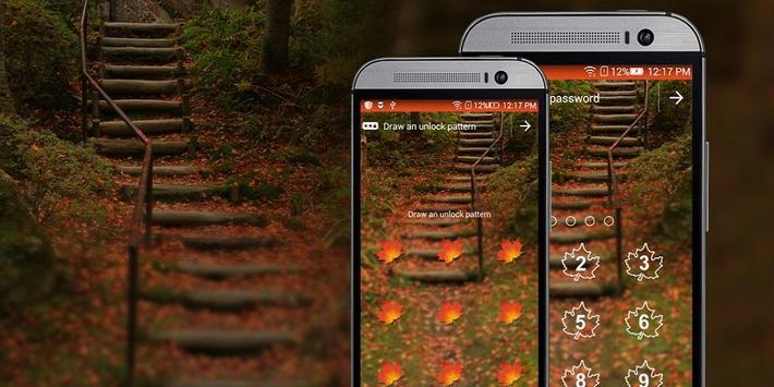 Leaf App Lock Theme poster