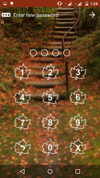Leaf App Lock Theme apk screenshot