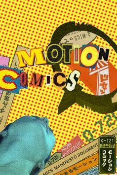 Q-721 MOTION COMICS WALLPAPER poster
