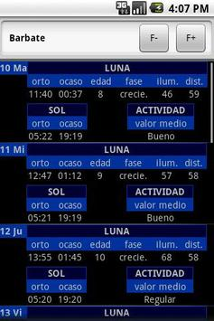 España. Mareas FREE apk screenshot
