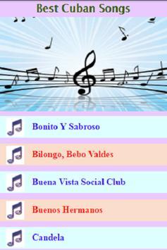 Cuban Best Songs screenshot 1