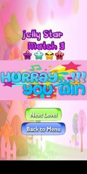 Jelly Star Match 3 screenshot 4