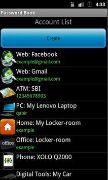 Password Book screenshot 5